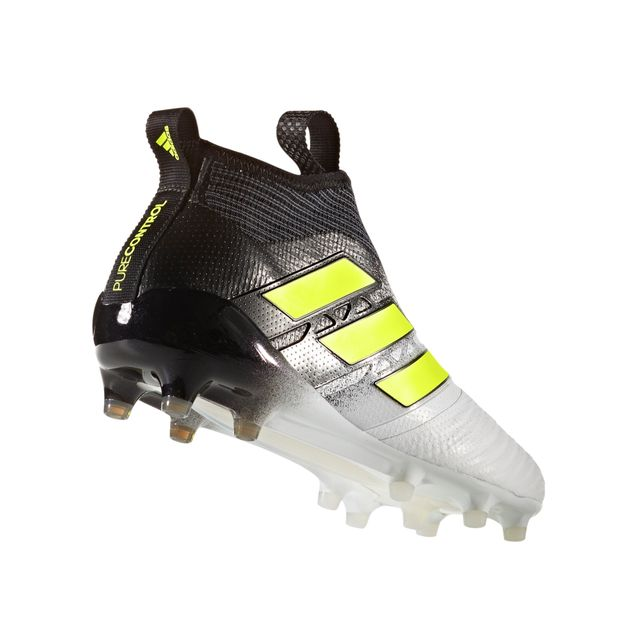 Adidas performance - Chaussures football Adidas Ace 17+ Purecontrol Fg Blanc/noir