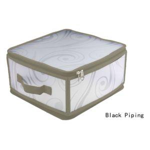 jja boite rangement pliable 30 x 28 x 15cm taupe pas cher achat vente bo te de rangement. Black Bedroom Furniture Sets. Home Design Ideas