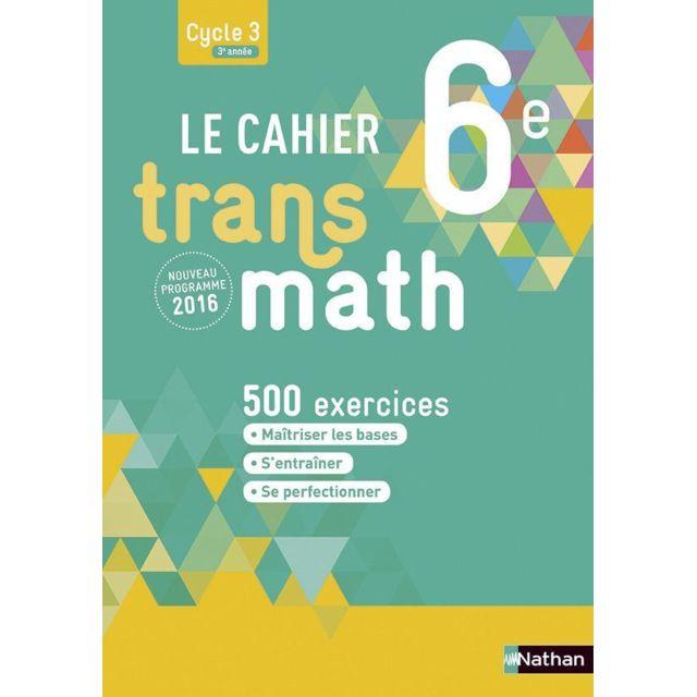 Transmath 6eme Cahier De L Eleve