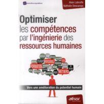 Afnor - optimiser les compétences par l'ingénierie des ressources humaines