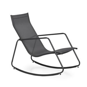 alin a bob rocking chair gris fonc en textil ne pas cher achat vente fauteuil de jardin. Black Bedroom Furniture Sets. Home Design Ideas