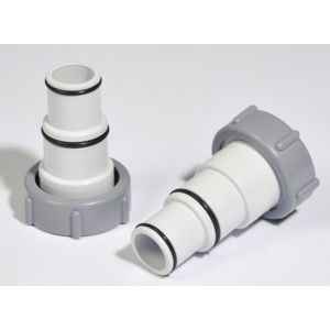 Intex Adaptateurs Males 32 38mm Lot De 2 Pas Cher
