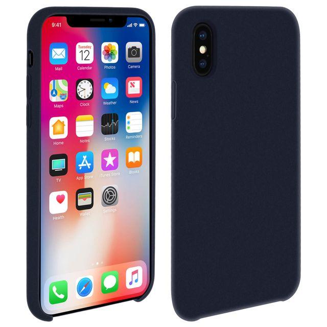 coque iphone x silicone liquide fine