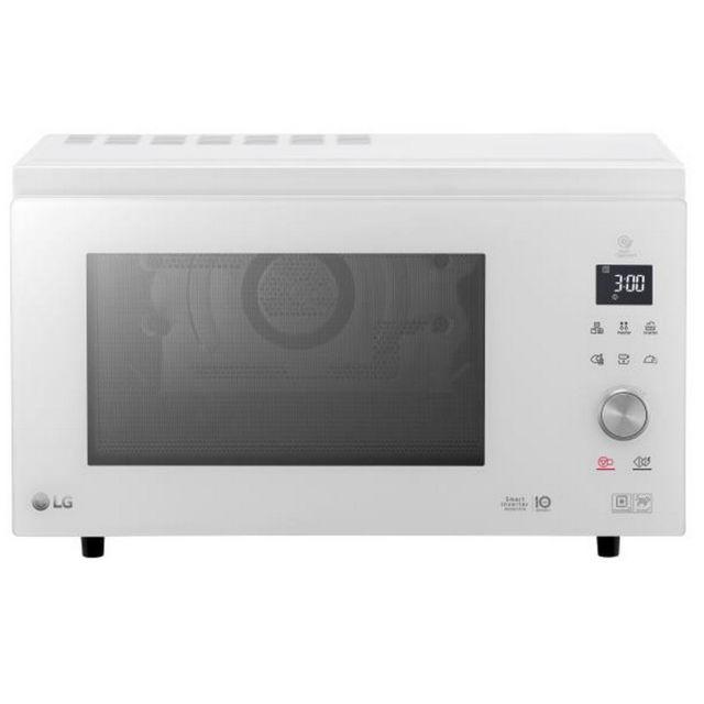 LG micro-ondes combiné 39l 1100w blanc - mj3965bph