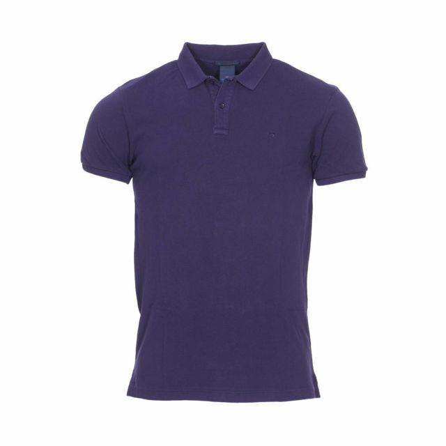 727ca60bb89c Scotch And Soda - Polo Scotch   Soda en coton de piqué bleu marine - pas  cher Achat   Vente Polo homme - RueDuCommerce