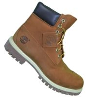 Timberland - En Solde - Chaussures Boots 6 In Premium Rust 72066 - Orange