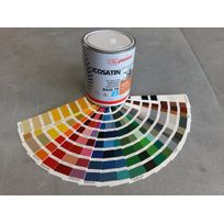 Icopeint - Peinture Acrylique Satin - Icosatin - Rouge rubis - Ral 3003 - 1L