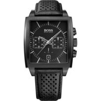 Hugo Boss - Montre Boss Hb1005 1513357 - Montre Cuir Noire Homme