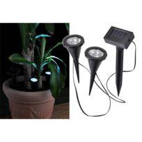 Hape International - 2 spots solaire pour eclairage de plante