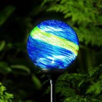 Solartechnology - Lampe solaire de jardin Murano Midnight