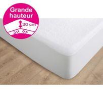 Candido Penalba - Protege matelas Alcomeria Pur Essential 160x200 cm blanc