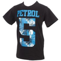 Petrol Industries - Tee shirt manches courtes Number steal mc tee jr Gris 24776