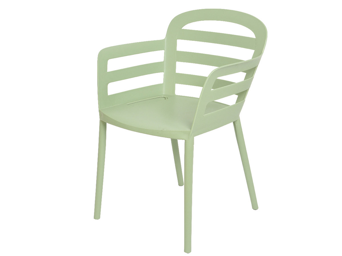 Chaise de jardin en polypropylène Boston Vert clair