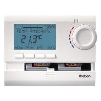 Theben - Thermostat programmable digital 7 jours - 2 piles - Ramses 811 Top 2
