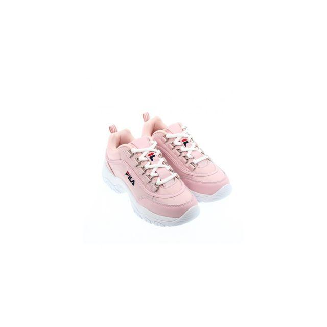 Fila Strada Low Wmn Chalk pink pas cher Achat Vente