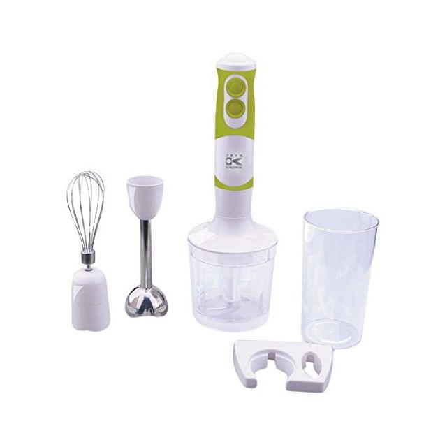 KALORIK Mixeur plongeant - 2 vitesses - 750 watts - Blanc/Vert