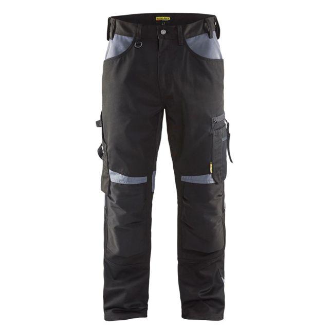 Blaklader Pantalon de travail artisan sans poches flottantes polycoton