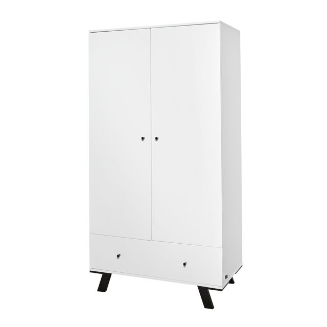 Twf Armoire 2 portes Pure - Blanc
