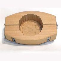 Tellier - Moule à Beurre rond 7cm en bois 125g Hermine