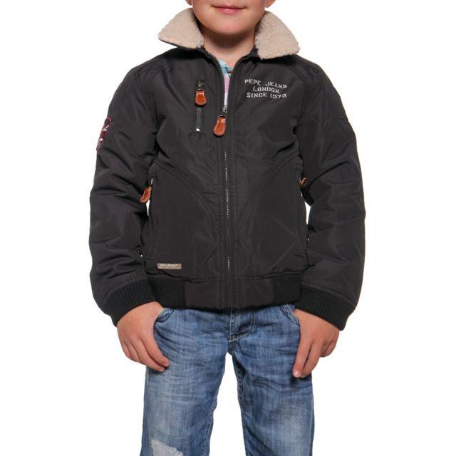095a285a4935f Pepe Jeans - Blouson Stan dk grey - pas cher Achat   Vente Blouson ...