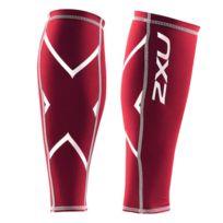2XU - Collants Compression Calf Guard Lycra rouge