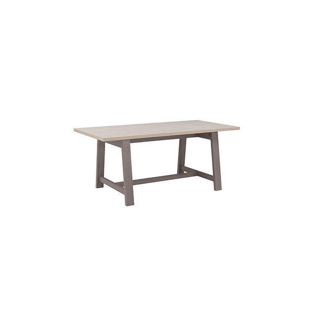 Table repas 180x77x90cm naturel - Cassandre