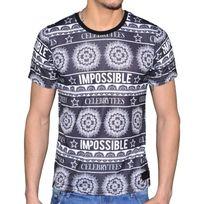 Celebrytees - Celebry Tees - T Shirt - Homme - Maya - Noir