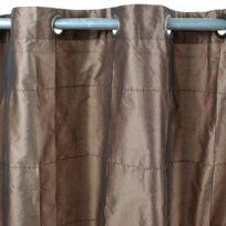 MonbeauRideau - Rideau William 150x250cm, Moka • Taffetas polyester