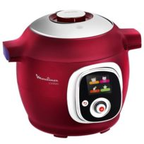 Multicuiseur Cookeo Rouge - CE701500