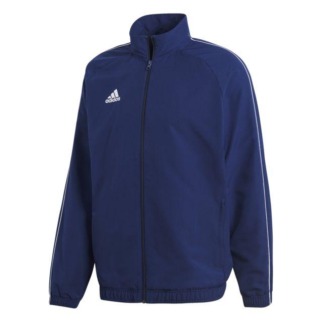Adidas Pas Cher De Achat Core Vente Présentation 18 Veste xwP7xRBq