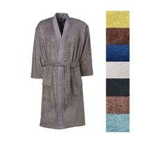 TEX HOME - Peignoir EPONGE BIO col kimono