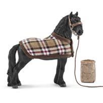 Schleich - Kit de soin chevaux frisons