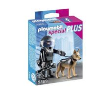 Playmobil - Policier Force Speciale + Chien 5369