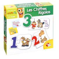 Lisciani - Jeu éducatif puzzle mes 1ers mots - Les chiffres Rigolos