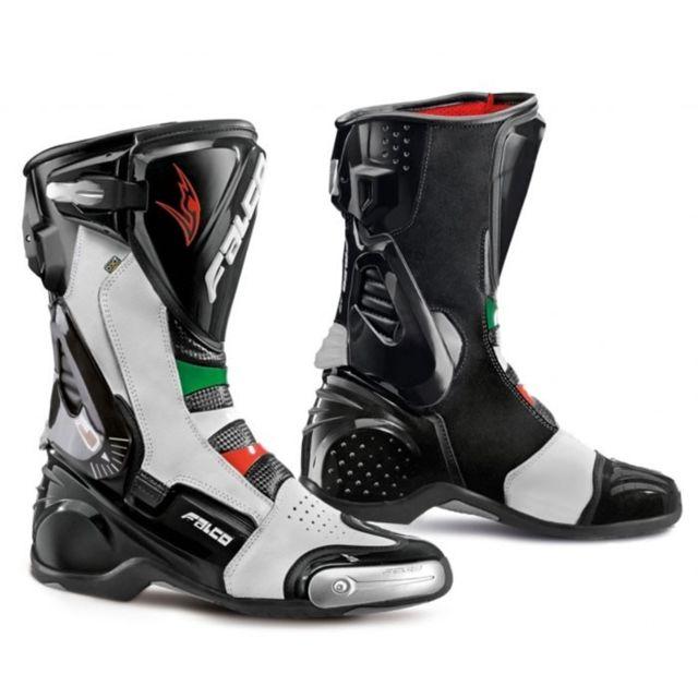 307 Sport Racing Falco 41 Blanc Noir amp; Bottes Lx Eso Moto Italia xEqB7wBYC