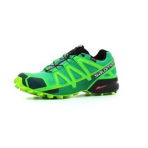 Salomon - Chaussure de Trail homme Speedcross 4 Gtx homme Vert