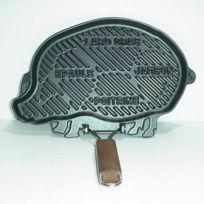 Fontignac - Gril Viande Fonte Noire 34x20 Decor Porc