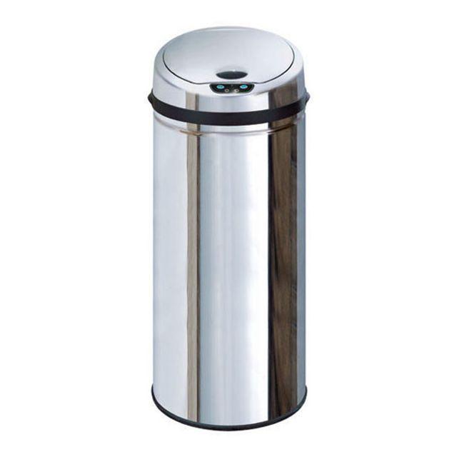 kitchen move poubelle automatique 50l inox bat 50lb pas cher achat vente poubelle de. Black Bedroom Furniture Sets. Home Design Ideas