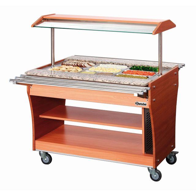 Bartscher Chariot buffet chaud, 3x1/1GN, 150