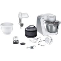 Bosch - Kitchen machine MUM58244 silver blanc