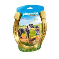 PLAYMOBIL - COUNTRY - Poney à décorer 'Etoile