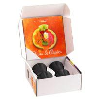 Mastrad - Coffret 4 cannelés renversants noire + Livre