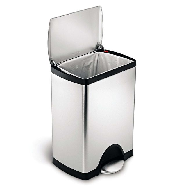 Simplehuman Poubelle Rectangular Step Can 30L