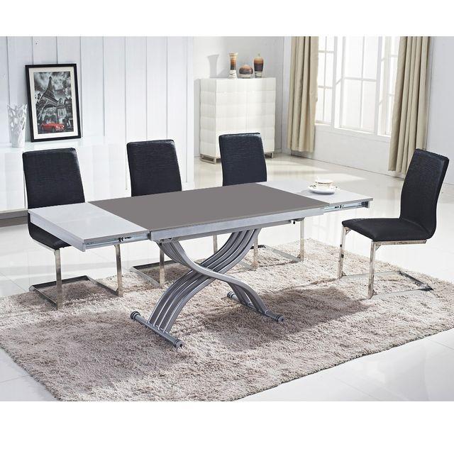 Table basse qui se rehausse table basse ronde duappoint x - Table basse qui se rehausse ...