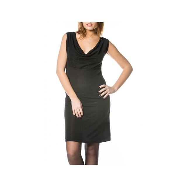2308016b5929b Princesse Boutique - Robe Noir à paillettes avec dos nu - pas cher ...