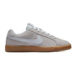 Nike Chaussures Court Royale Suede gris femme pas cher Achat
