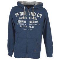 Petrol Industries - Vestes sweats zippés capuche Swh dk indigo capsweat fz Bleu 52935