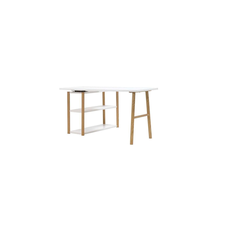 bureau-pivotant-design-scandinave-blanc-et-chene-gilda-41197-58245070ad06e-1010-1010-0 Unique De Table Ronde Cdiscount Conception