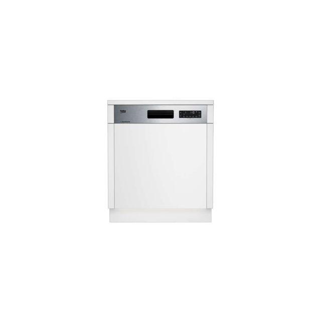Beko Dsn2842x - Lave-vaisselle - 60 Cm - 14cvts - A++ - 9,5 L - Bandeau Inox