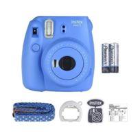 Fuji - Appareil Photo Instantané Fujifilm Instax Mini 9 - Bleu Cobalt